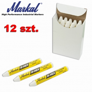 Kreda do opon  Markal B-HEX 12szt.